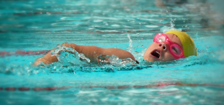 Illustration svømning